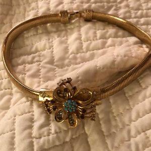 Jewelry - Vintage tourquiose omega